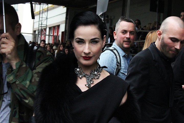 black, dita, dita von teese, fashion, jewel