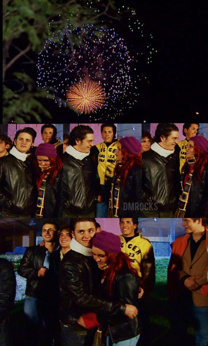 boy, couple, firends, firework, girl