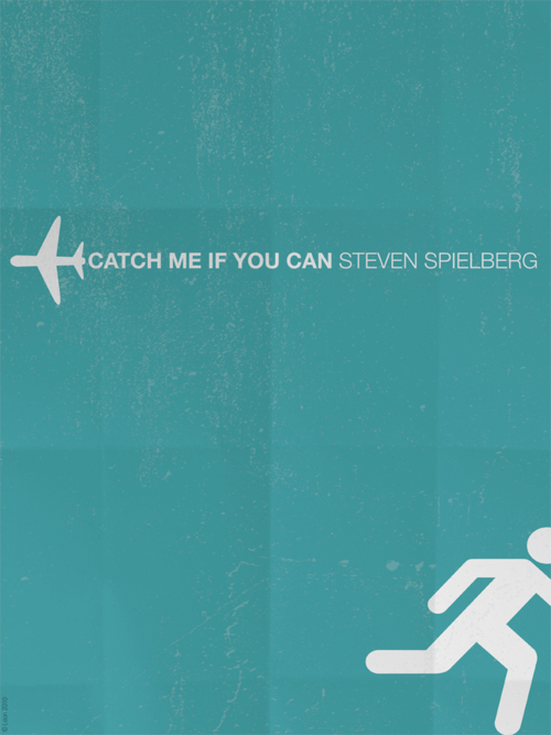 catch me if you can, movie, movie poster, poster, steven spielberg