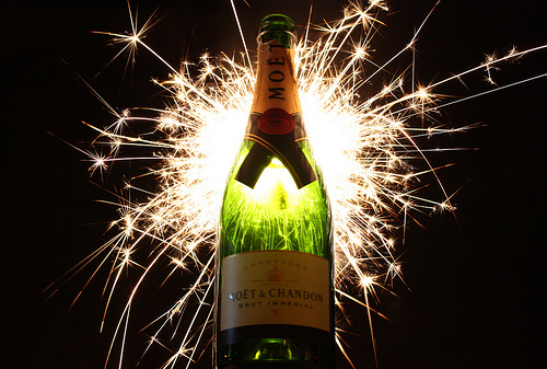 chandon, firework, new year