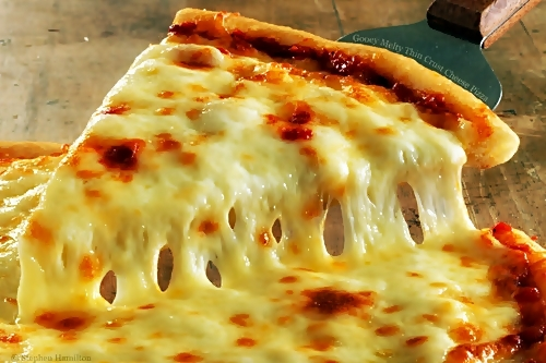 cheese, food, pizza