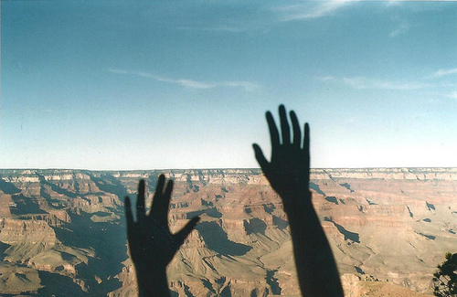colorado, girl, grand canyon, hand, photography