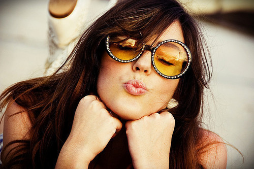 cute, fashion, girl and glasses