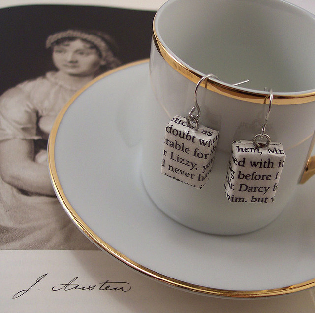 darcy, earrings, elizabeth bennet, jane austen, lizzy