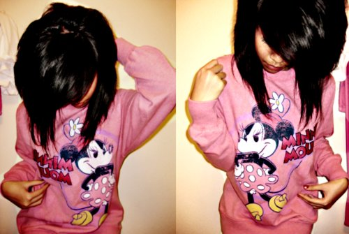 Mickey Mouse and Minnie Mouse Tumblr