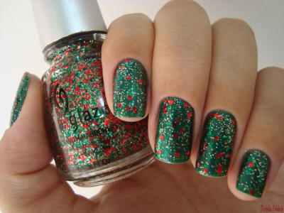 gamei nessa unha, green, nails, polish