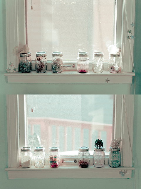 glitter, jars, magic, natalie kucken, star