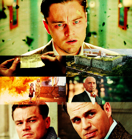 inception, leo di caprio, not inception, shutter island