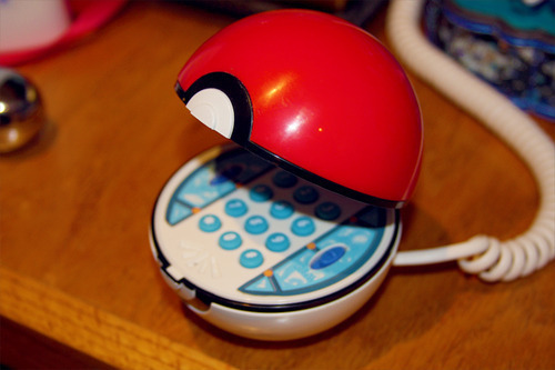 pokeball, pokemon, telephone